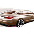 bmw concept 5 series gran turismo drawing by christopher weil 120x120