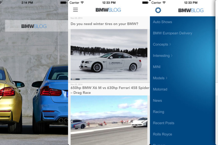 bmwblog app store 750x500