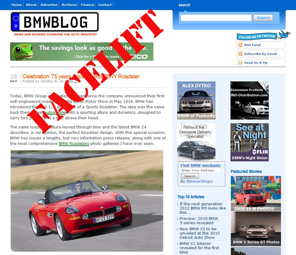 bmwblog facelift