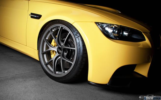 bmwm m3 dakar yellow supercharged 08 655x409