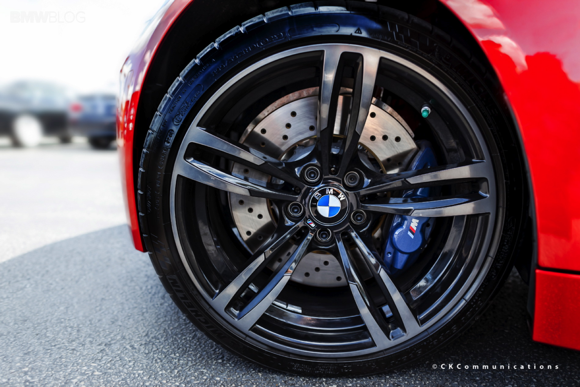 bmwblog tire review: michelin pilot super sport