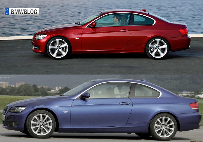 Photo Comparison E92 Coupe Facelift Vs Pre Facelift