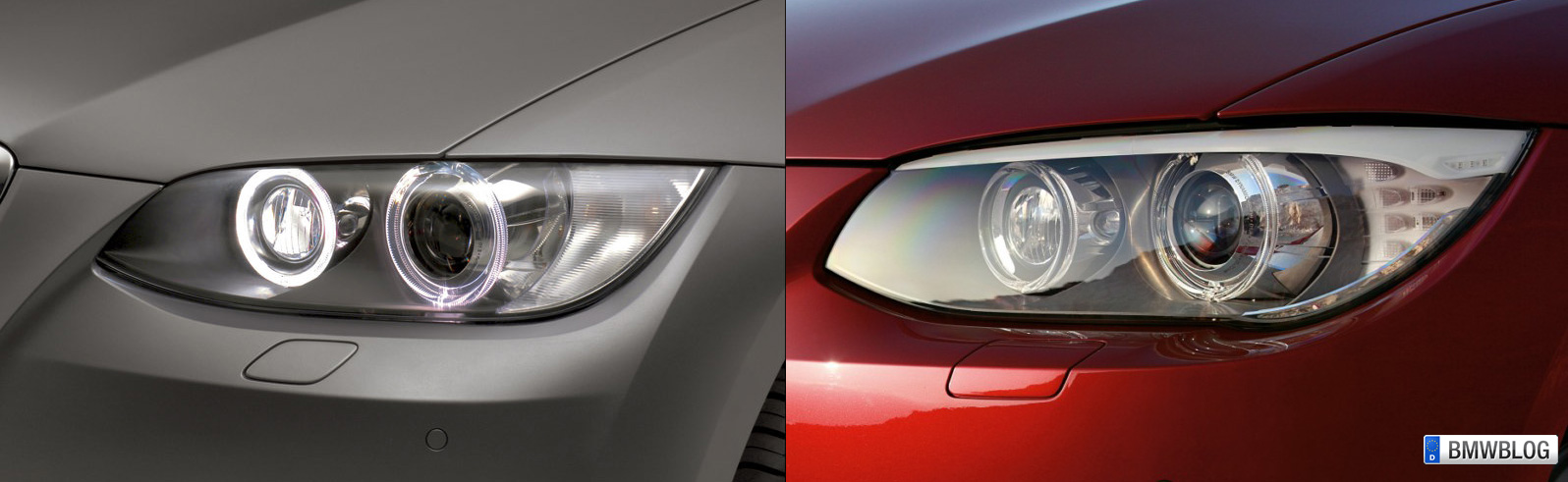 Photo Comparison E92 Coupe Facelift Vs Pre Facelift