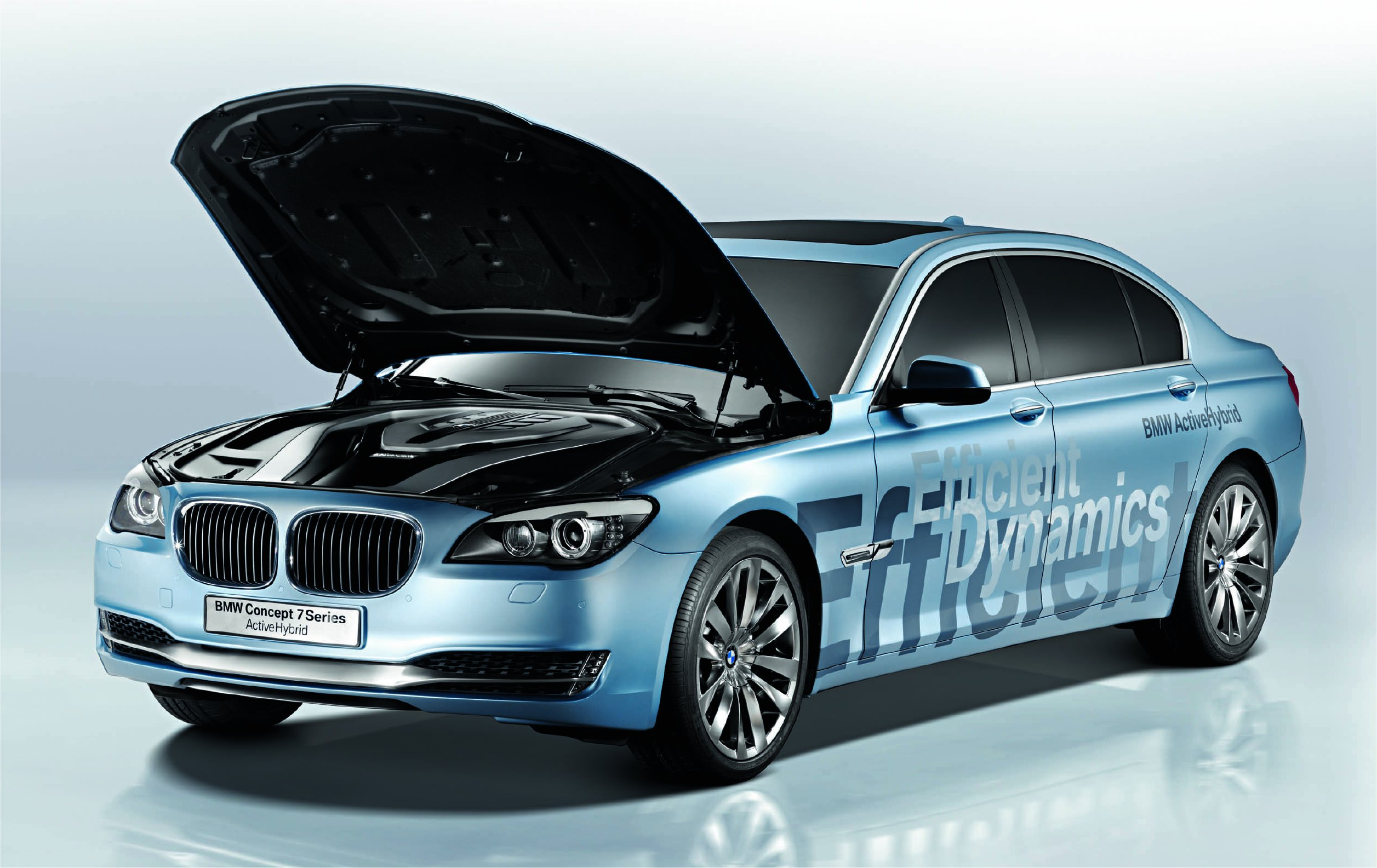 BMW 7 Series Concept Active Hybrid unveiled