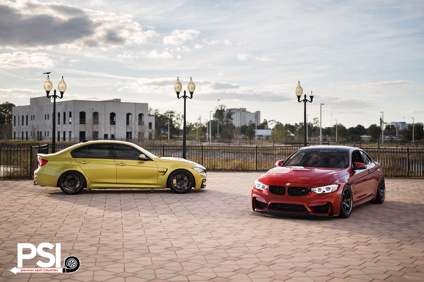 Duel Pursuits Bmw M3 Versus Bmw M4 By Psi