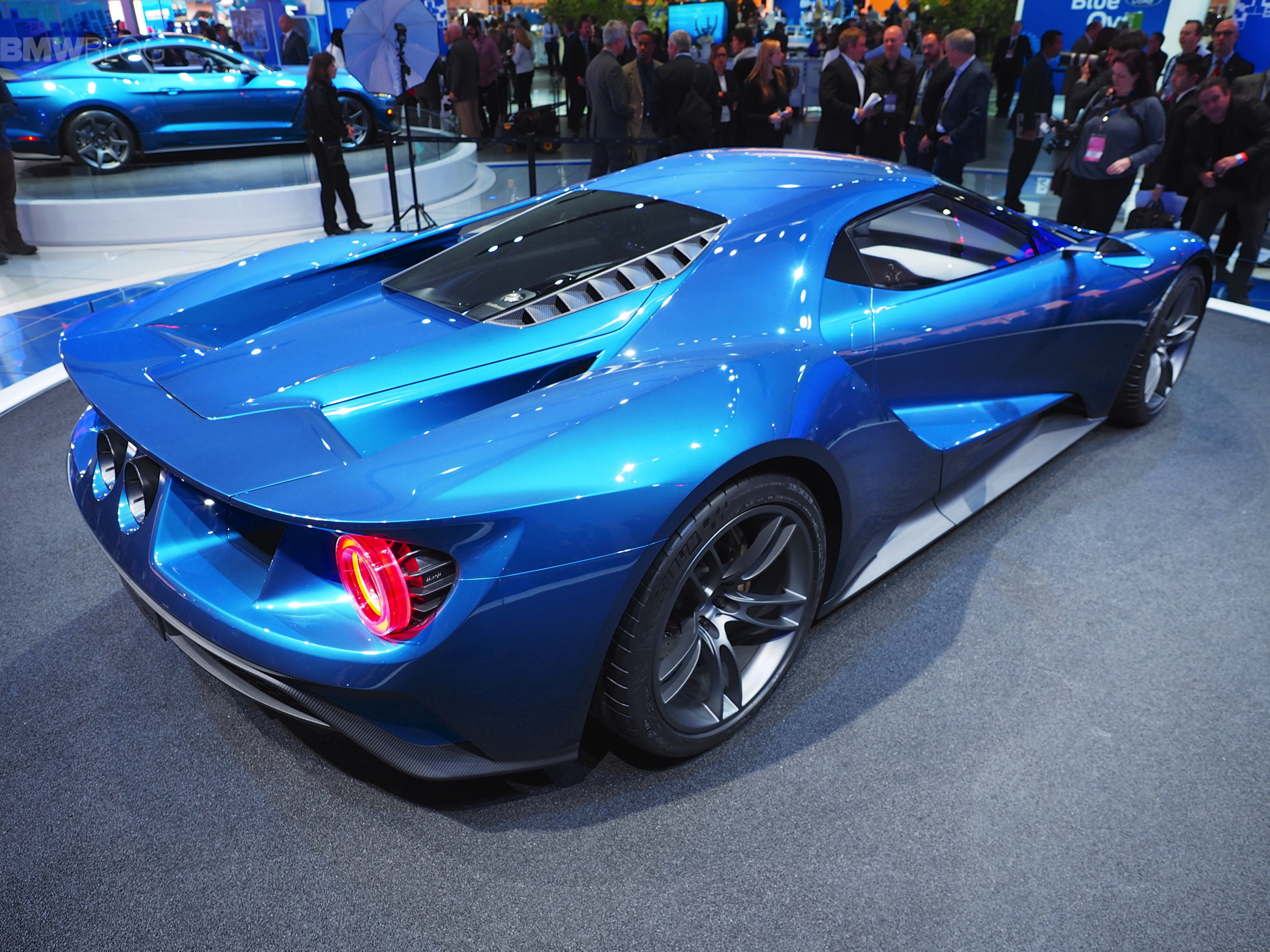 Ford GT comes to 2015 Detroit with 600 horsepower