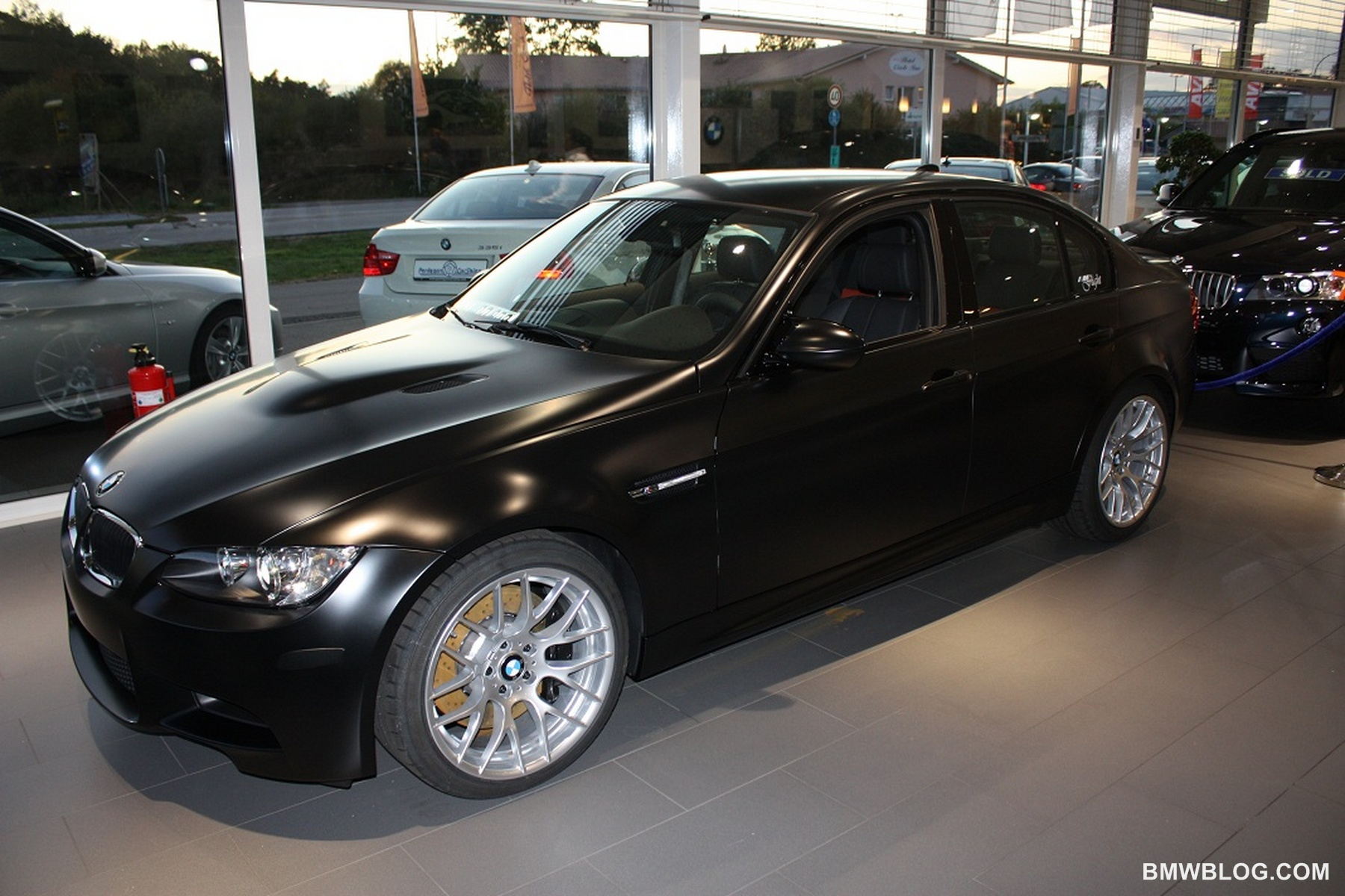 frozen black bmw m3 02