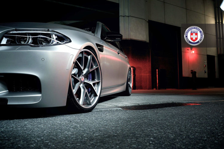 frozen cashmere bmw m5 hre wheels 4 750x500