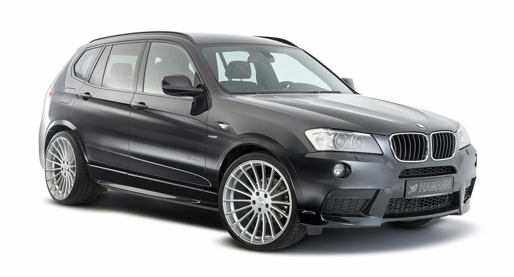 f25 bmw x3 by hamann. Black Bedroom Furniture Sets. Home Design Ideas