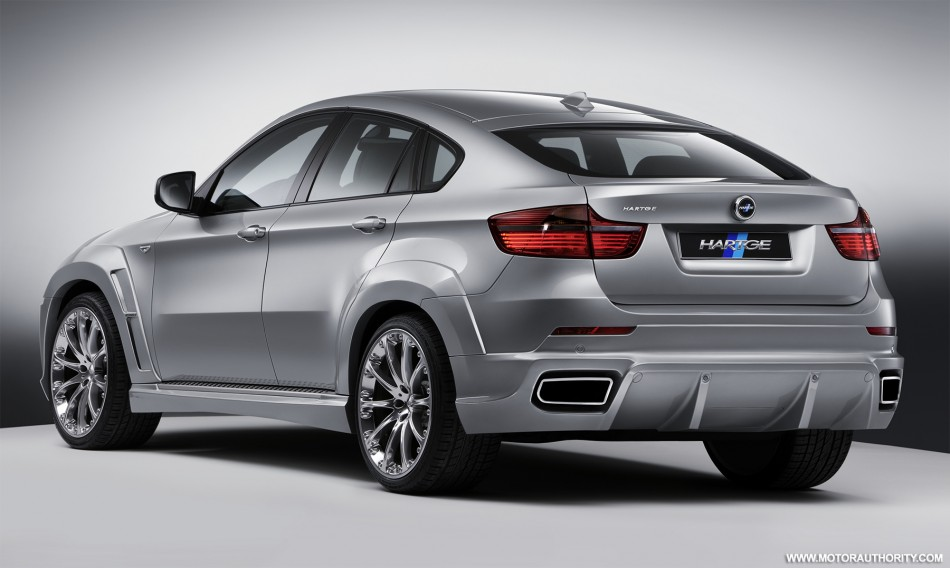 Hartge New Aerodynamic Kit For The Bmw X6