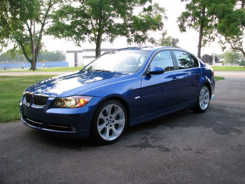 BMW 335i after detaling with Griot's Garage products