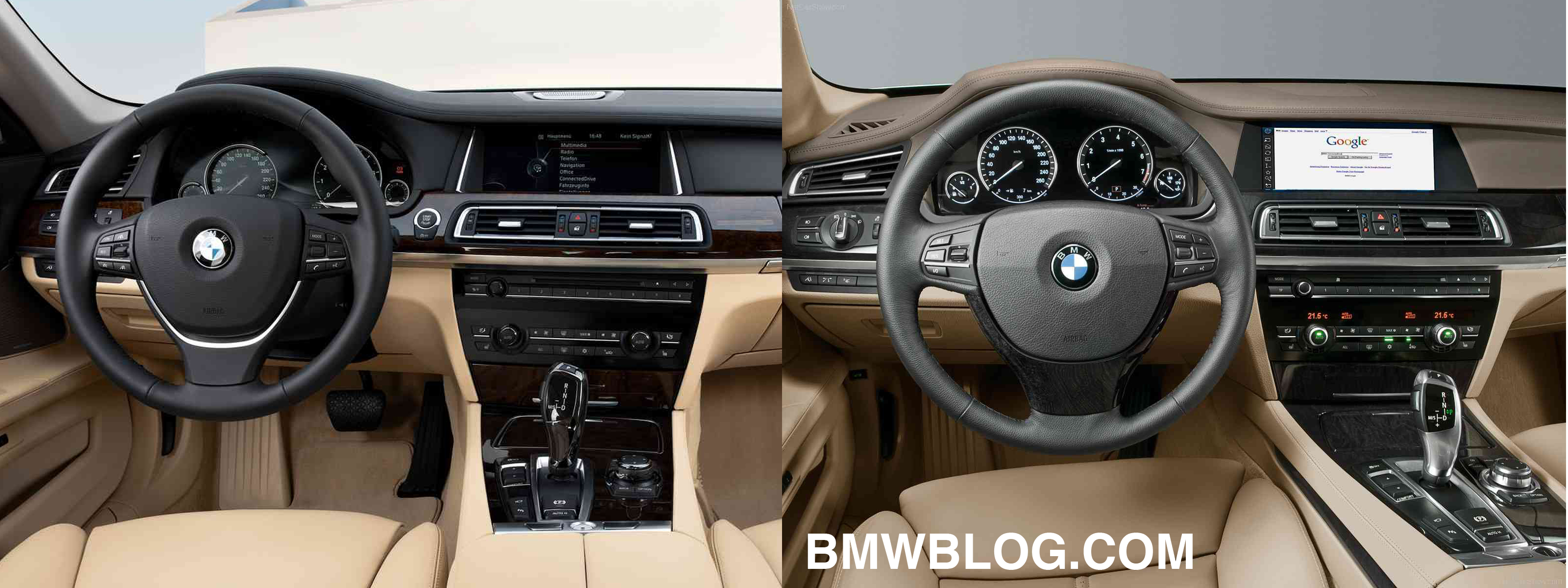 Photo Comparison: New BMW 7 Series Facelift vs. Pre-Facelift 7 Series