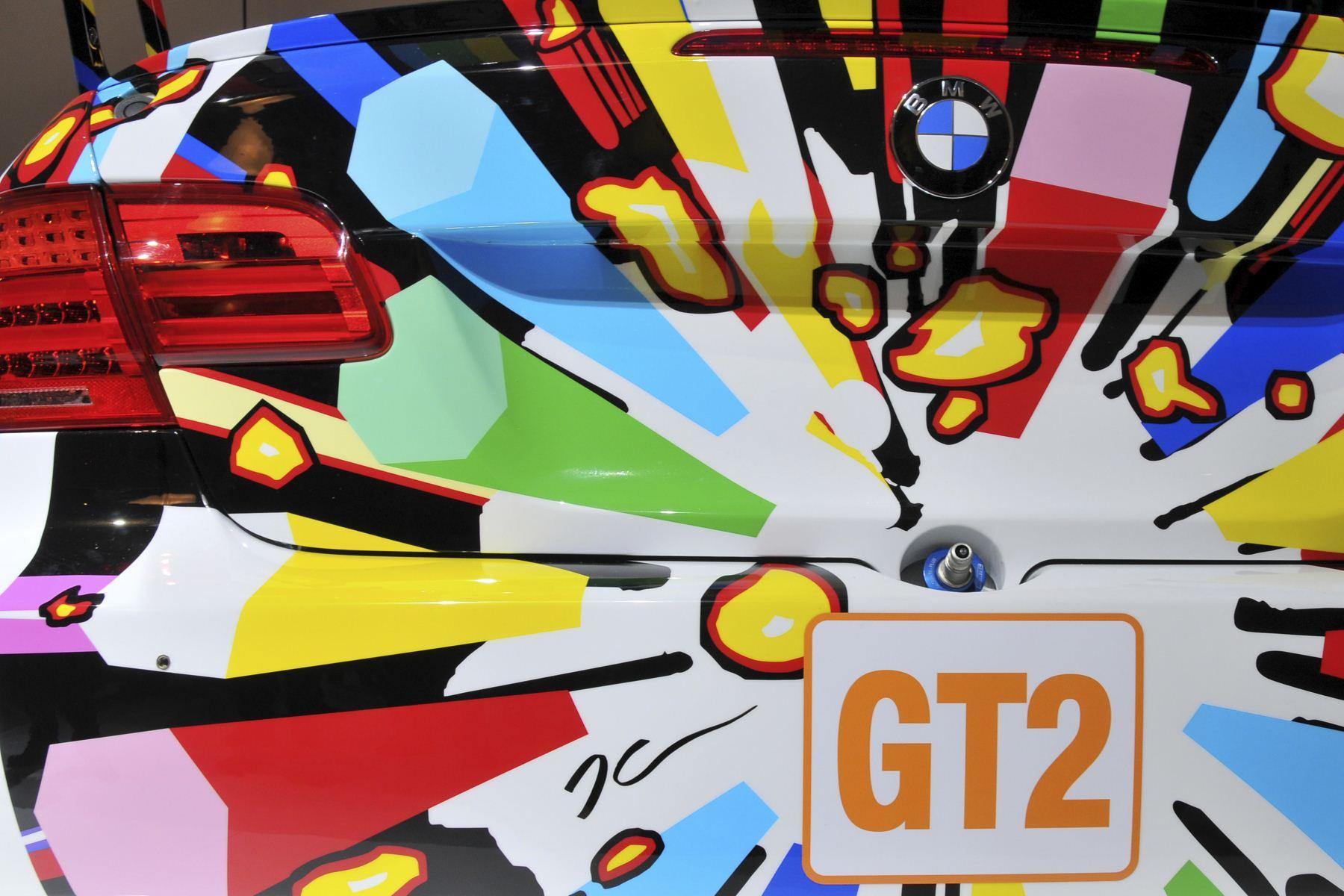 jeff koon bmw m3 gt2 art car 10