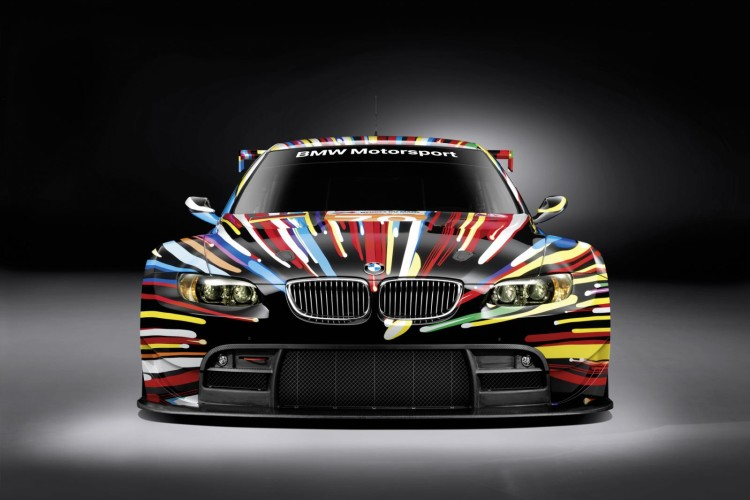 jeff koons bmw m3 gt2 art car  750x500