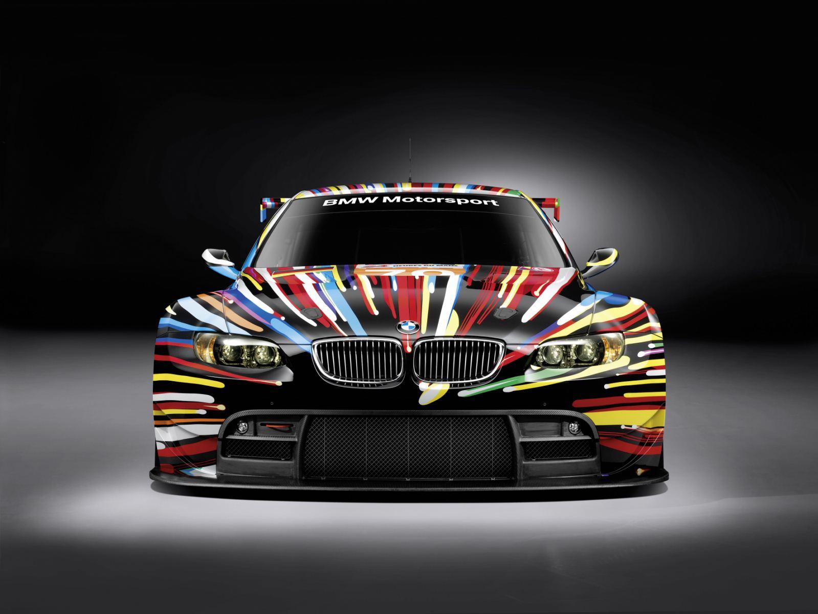 jeff koons bmw m3 gt2 art car