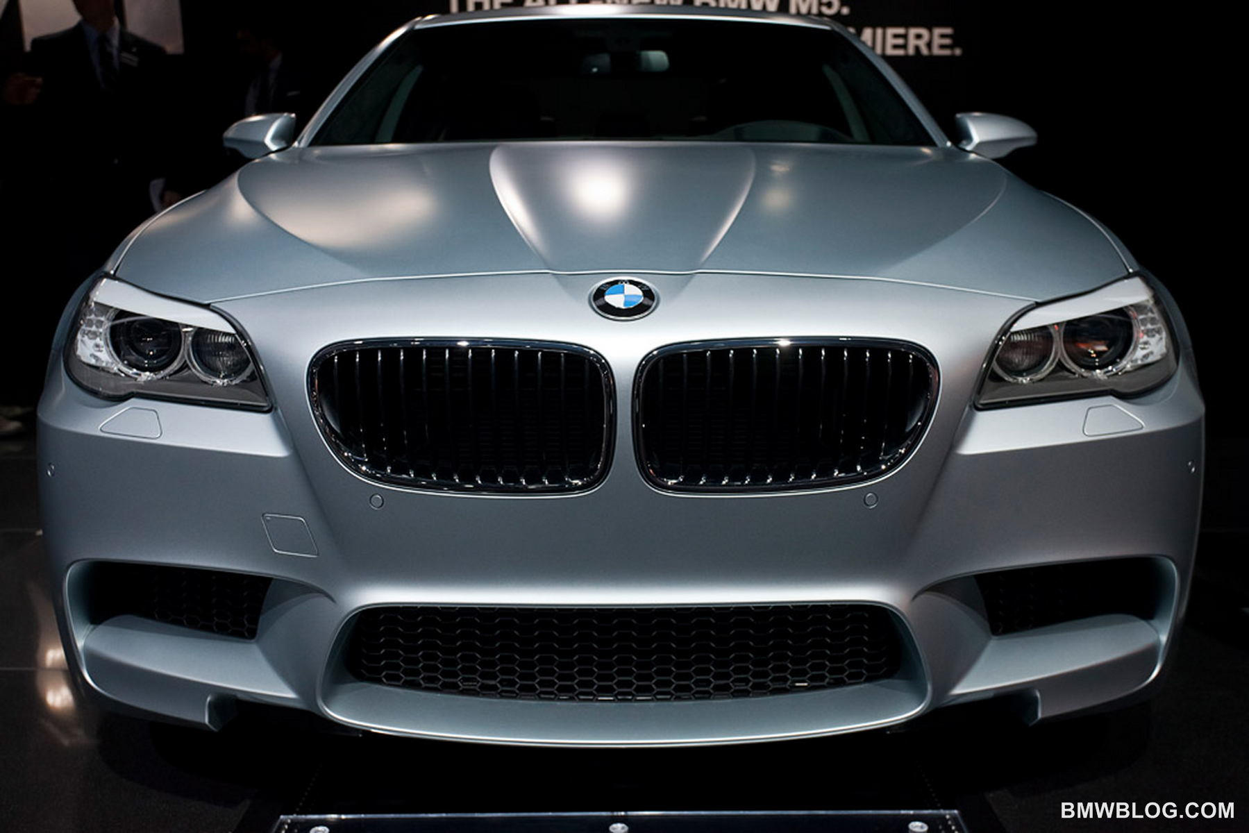 la auto show 2011 bmw m5 frozen silver 110