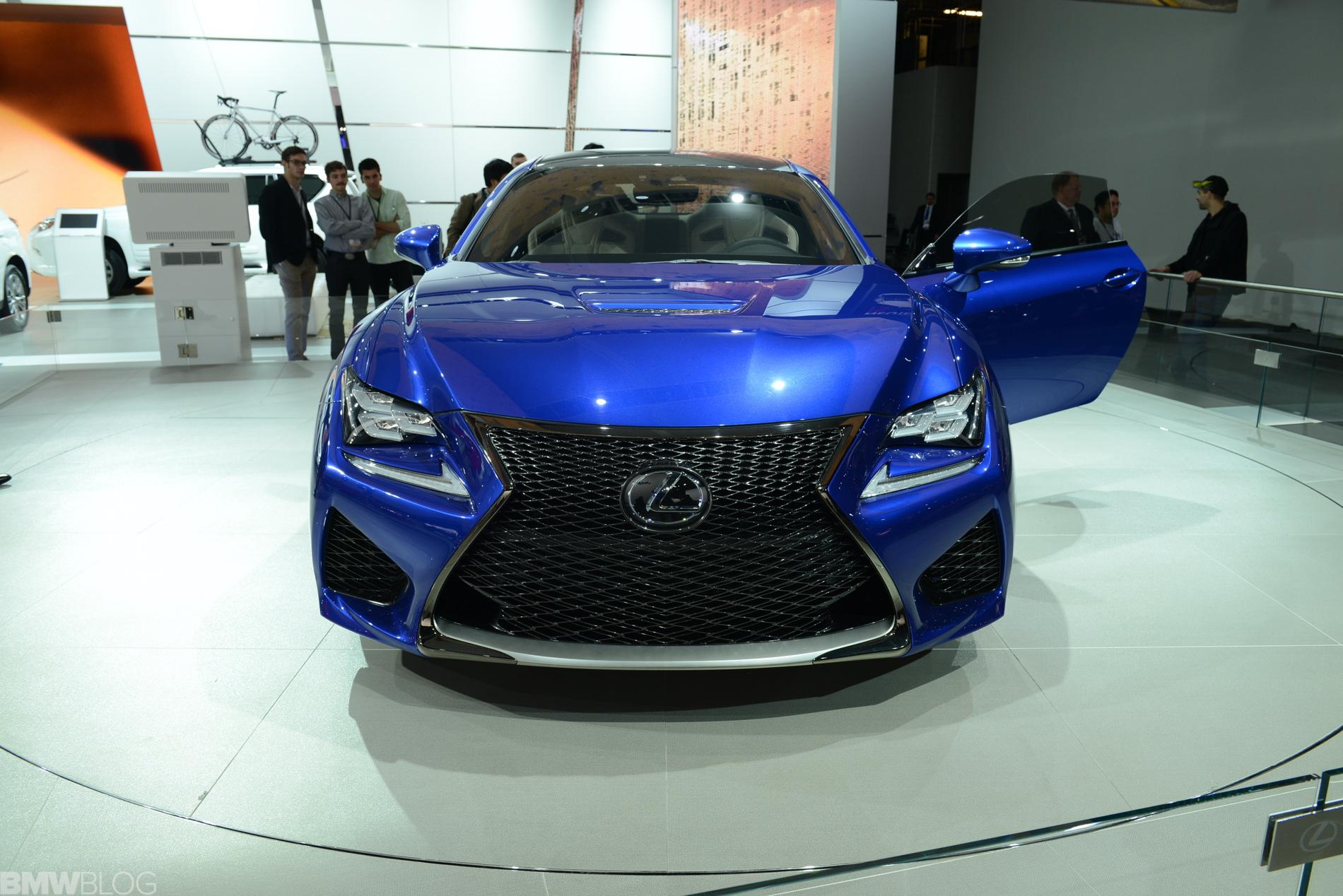 lexus rc f detroit auto show 03