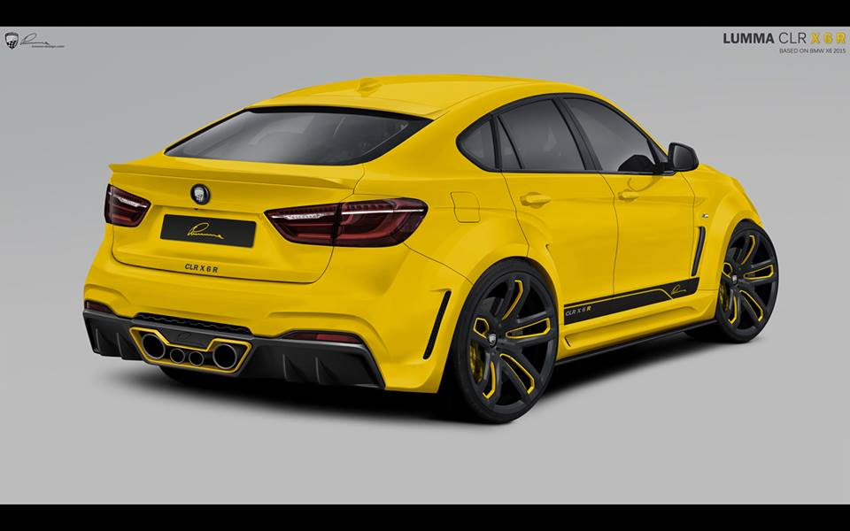 Lumma Design Clr X6 R Body Kit Based On New Bmw X6