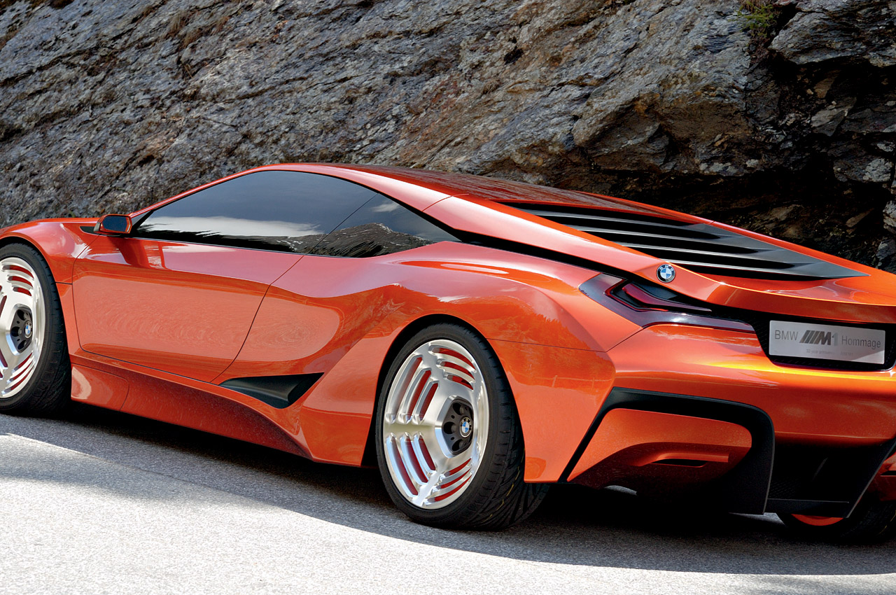New Century BMW >> New photos of the BMW M1 Hommage