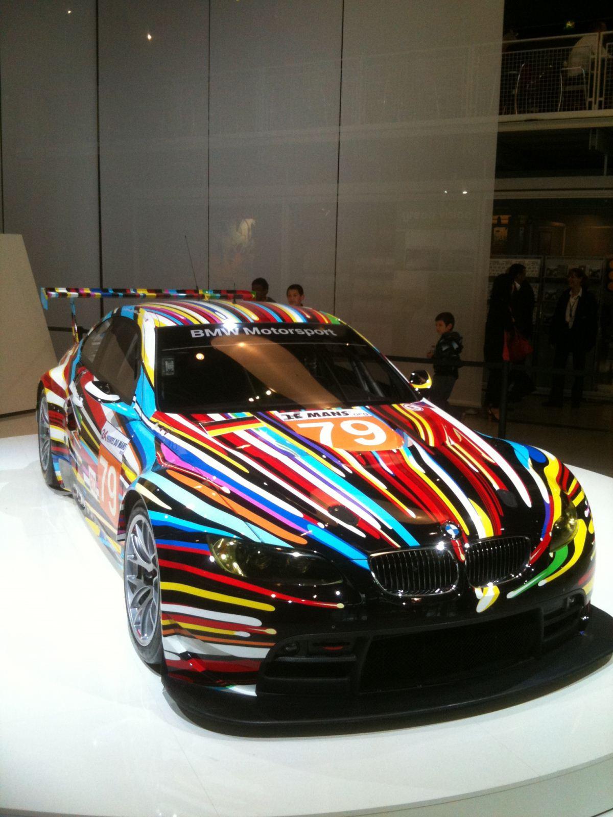m3 gt2 art car 25