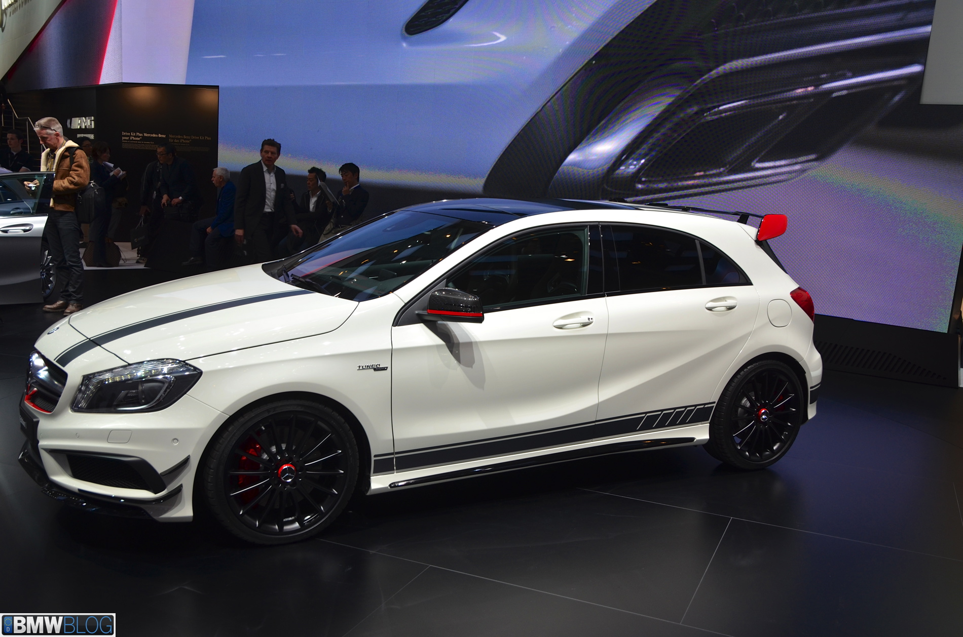 2013 geneva mercedes benz a45 amg edition 1 with 360 hp. Black Bedroom Furniture Sets. Home Design Ideas