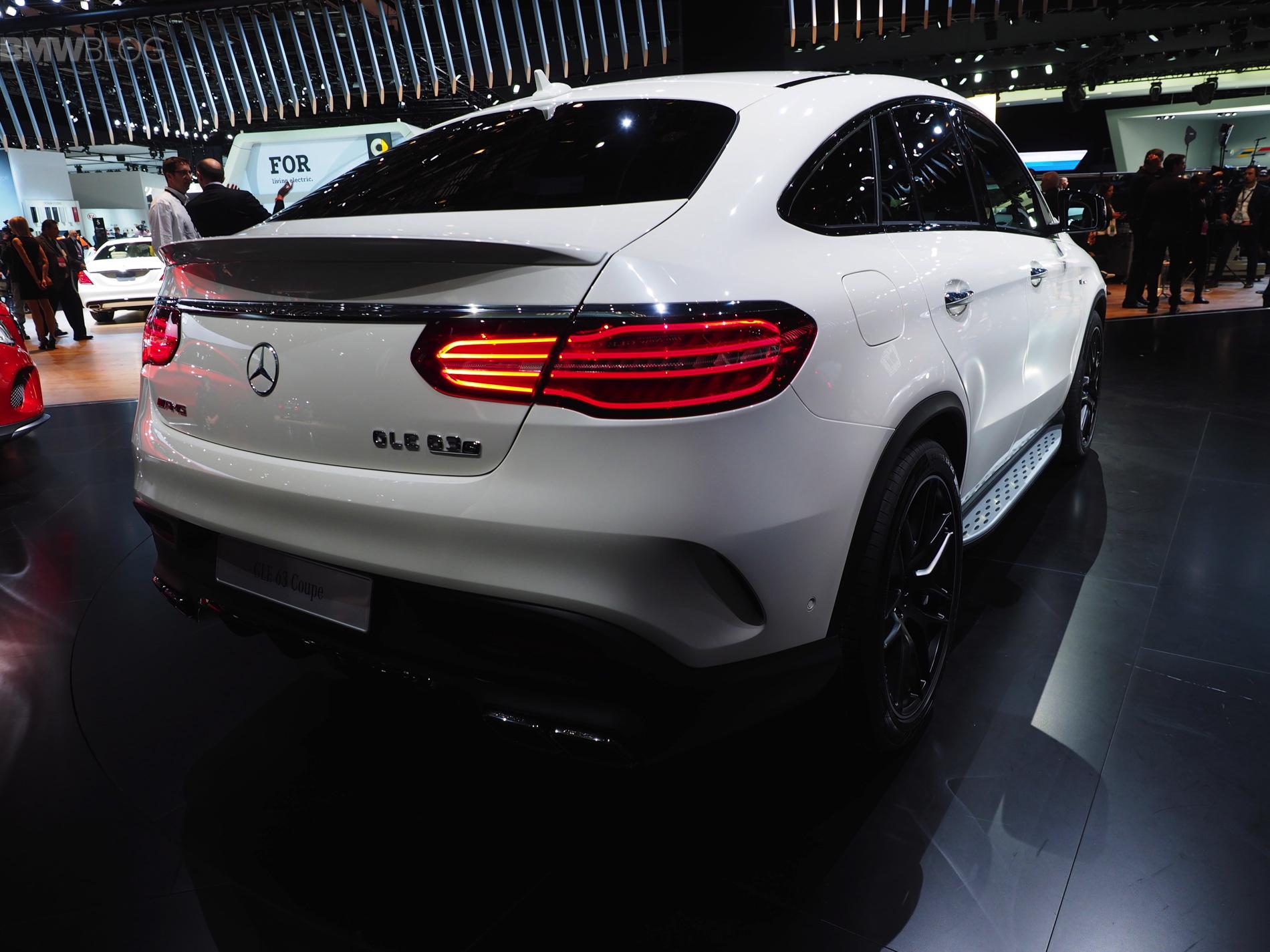 Bmw X6 0 60 >> Mercedes-Benz GLE debut at 2015 Detroit Auto Show