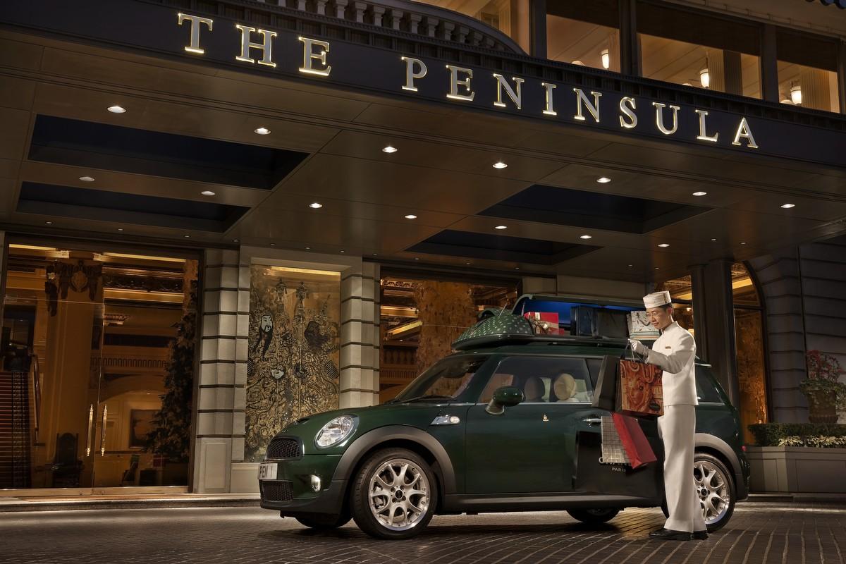 The Peninsula Mini Cooper S Clubman Exclusive Model