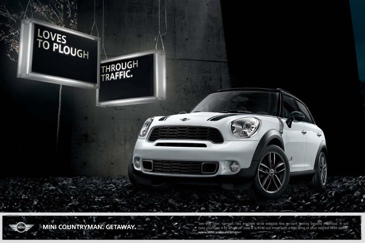 Mini Cooper All Wheel Drive >> MINI reveals Countryman print ads