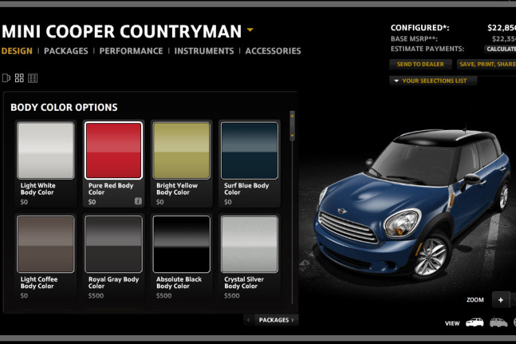 mini countryman configurator 750x500