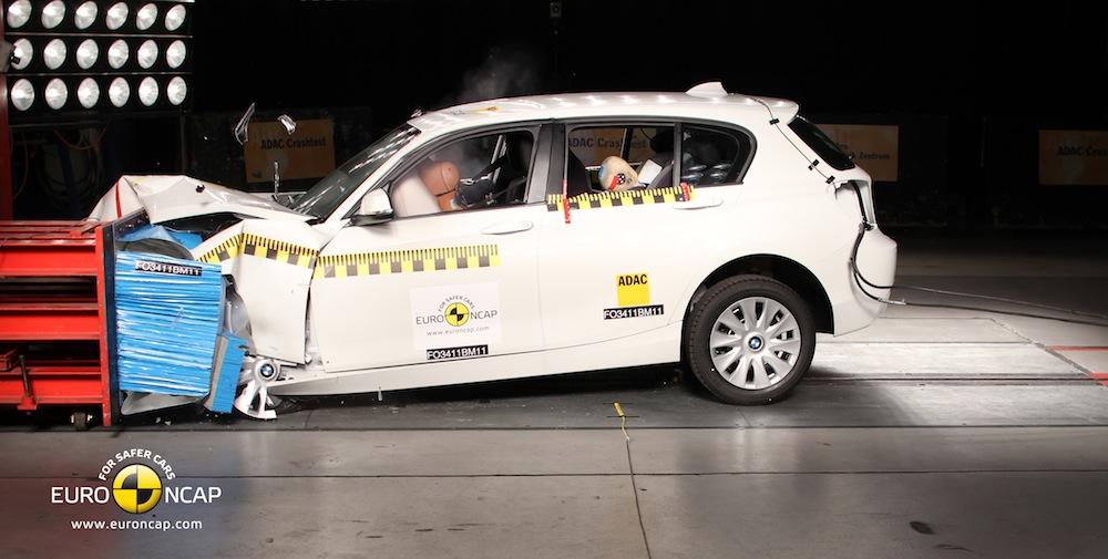 new 1 series crash test