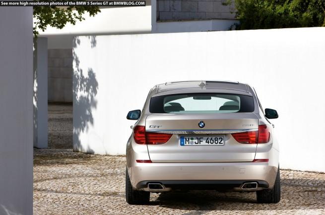 BMW 5 Series Gran Turismo 113