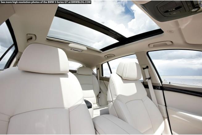 BMW 5 Series Gran Turismo moon roof