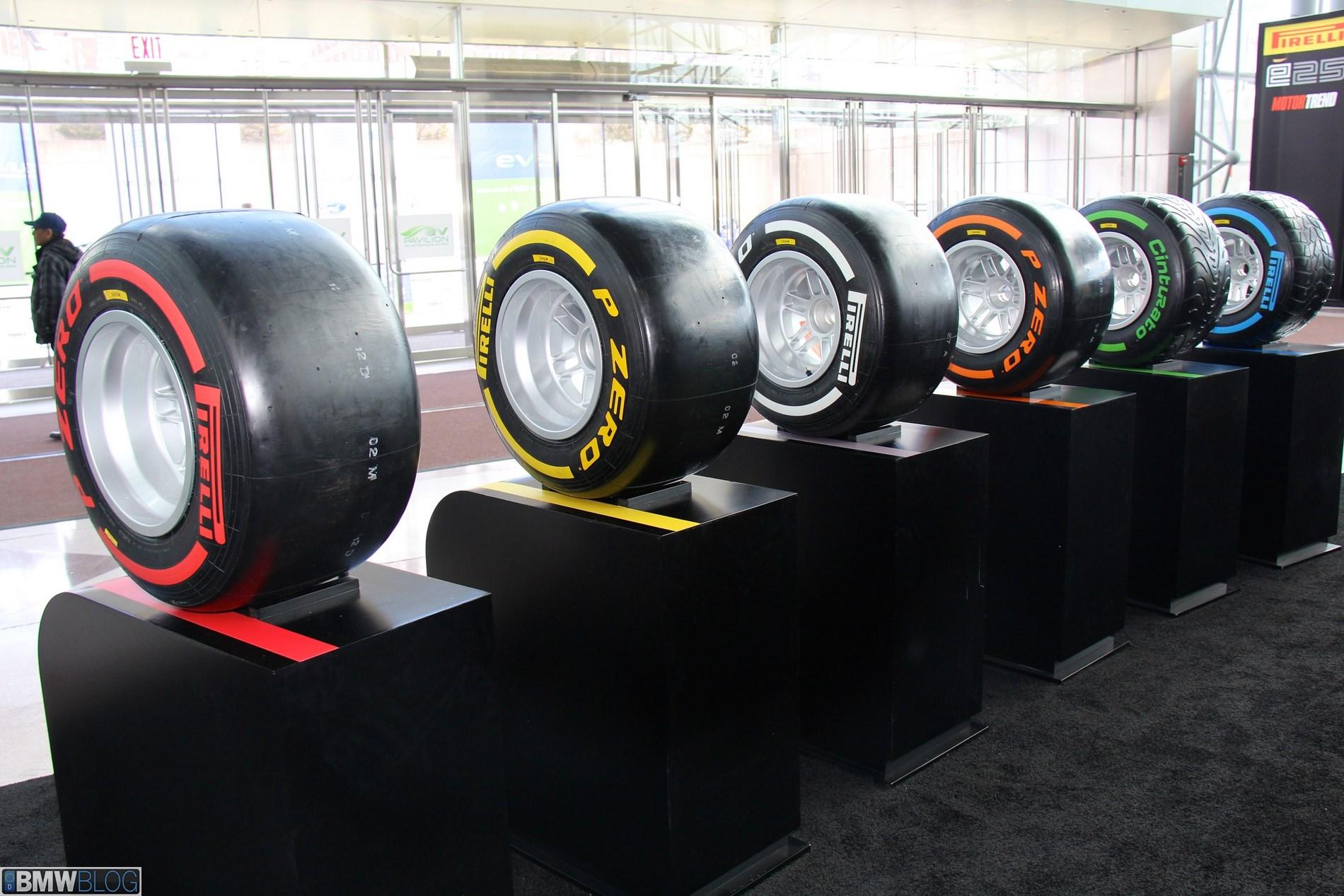Pirelli Display At The 2013 Nyias