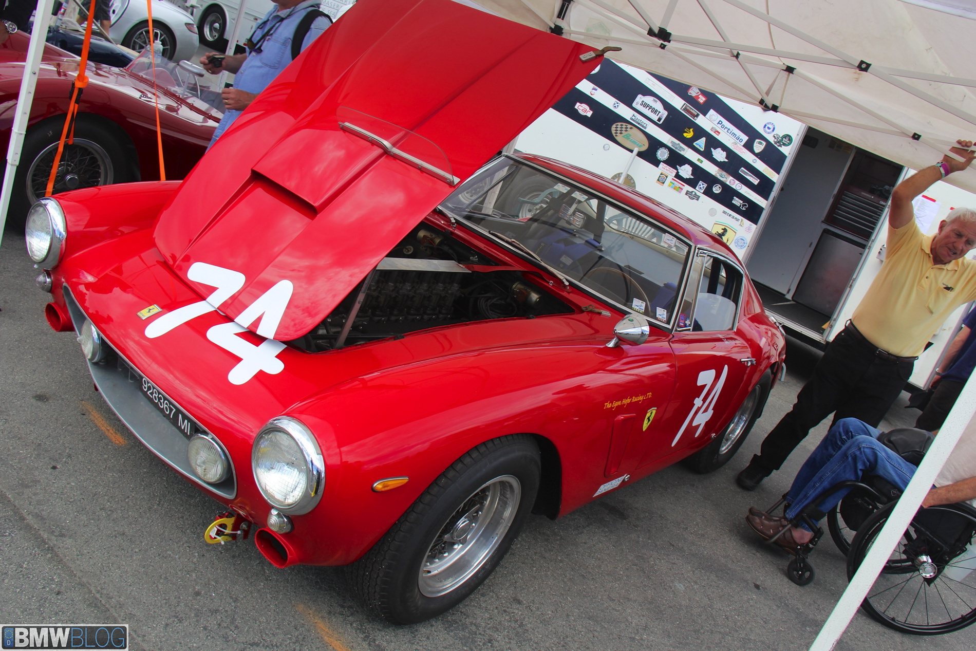 Rolex Motorsports Reunion Bmw S Racing Heritage On Track