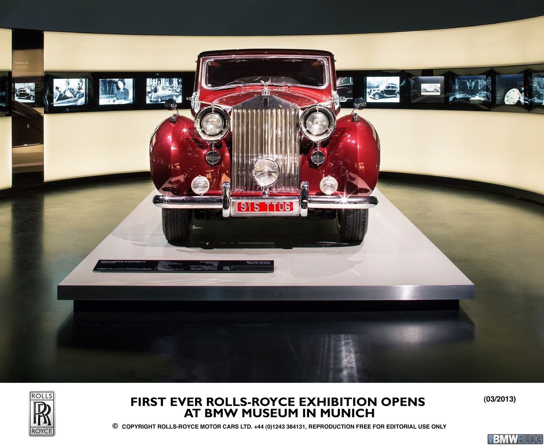 First ever Rolls-Royce exhibition at the BMW Museum