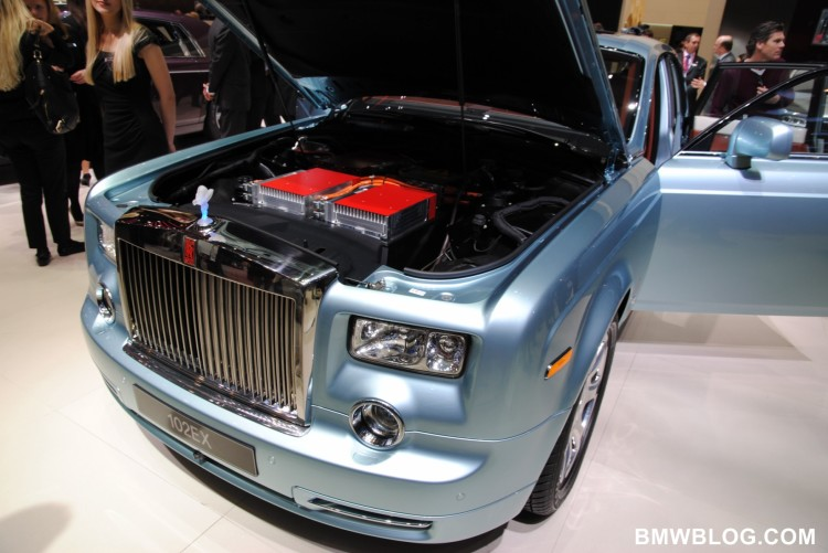 Rolls-Royce will launch an all-electric model in the near future
