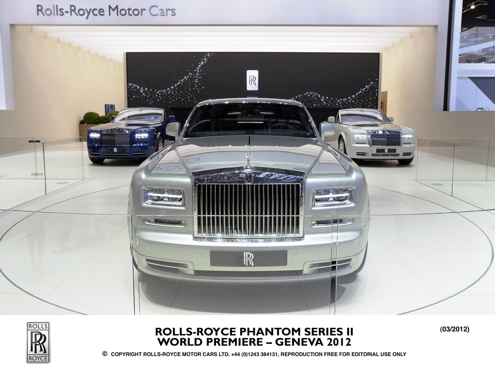 rolls royce facelift
