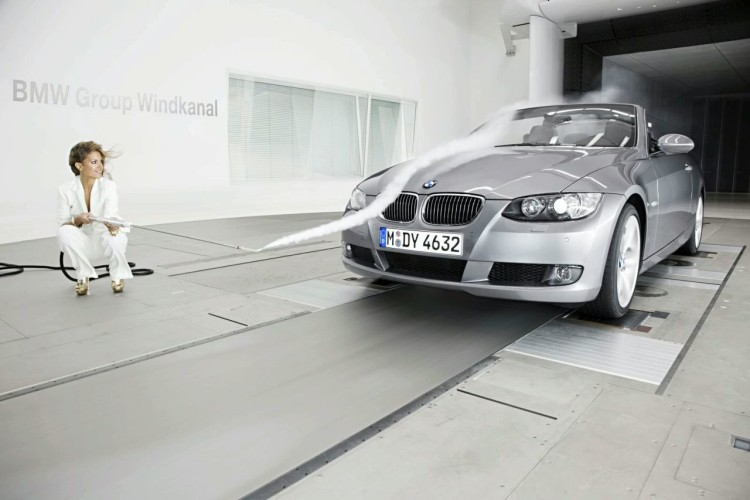 sylvie van der vaart in bmw wind tunnel 9 750x500