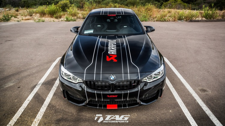 BMW M4 In Akrapovic Livery By TAG Motorsports