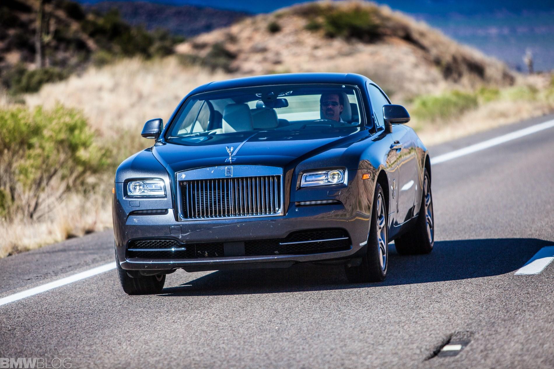 test drive rolls royce wraith 125