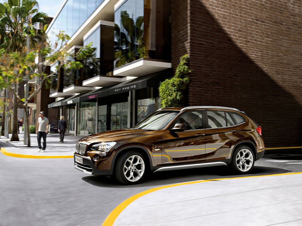 the new bmw x1 inthecity11