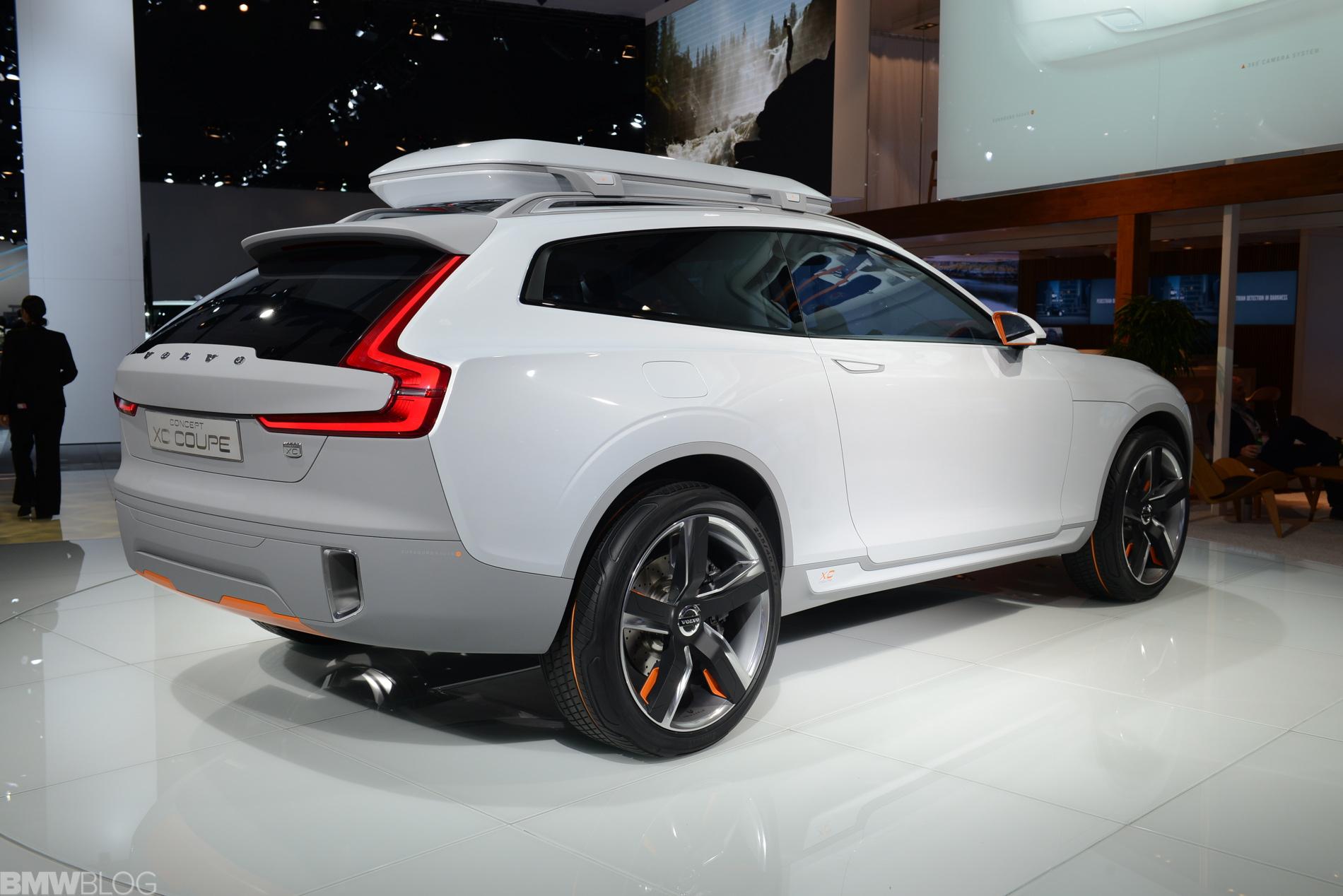 Volvo XC Coupe Concept - 2014 NAIAS