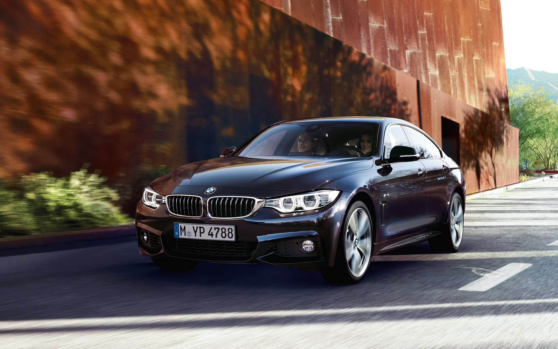 wallpapers bmw 4 series gran coupe. Black Bedroom Furniture Sets. Home Design Ideas