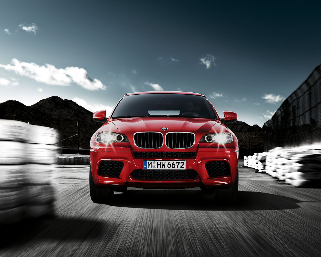 Wallpapers Bmw X6 M And Bmw X5 M